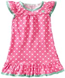 Carters Little Girls Dot Print Gown (Toddler/Kids)