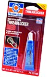 Permatex  27100 High Strength Threadlocker Red, 6 ml