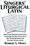 img - for Singers' Liturgical Latin book / textbook / text book