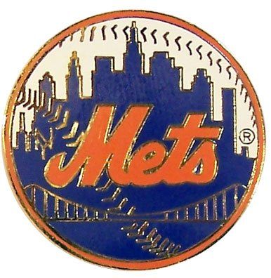 MLB New York Mets Logo Pin at Amazon.com