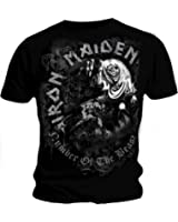 Official Grey Tone T Shirt IRON MAIDEN No. Of The Beast GREYTONE All Sizes
