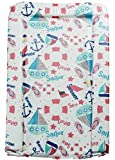 Baby Changing Mats Sailor Pink