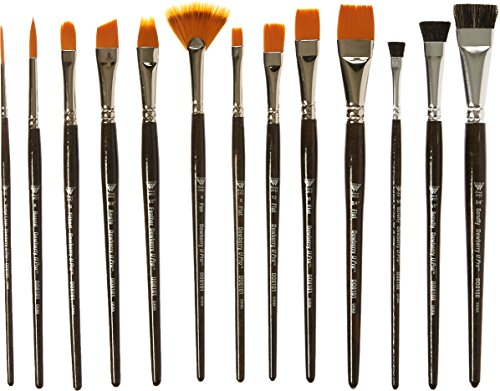 Weber Donna Dewberry Professional Brush Set, 13 Per Package (One Stroke Paint Brushes compare prices)