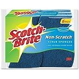 Scotch-Brite Non-Scratch Scrub Sponge 526, 6-Count