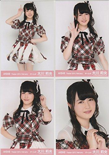 AKB48 公式生写真 Theater 2015.February 月別02月 【大川莉央】 4枚コンプ