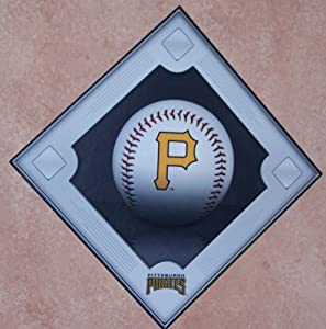 Pittsburgh Pirates FATHEAD Baseball Diamond MLB VInyl Wall Graphic Decal 18x18 by Fathead