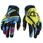 Fox Racing Dirtpaw Undertow Youth Boys Motocross/Off-Road/Dirt Bike Motorcycle Gloves - Blue/Green / Large