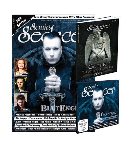 Sonic Seducer 02-13 mit Blutengel-Titelstory + Gothic Taschenkalender 2013 (insg. 384 Seiten) + CD, Bands: Dead Can Dance, Estampie, Diorama, Anne ... uvm.: + Gothic Taschenkalender 2013 + CD