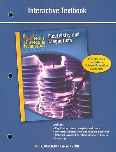 interactive textbook: Holt Science & Technology ...