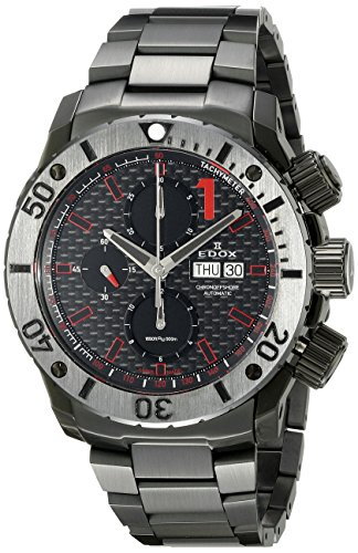 Edox-Mens-01115-37N-NRO-Chronoffshore-Analog-Display-Swiss-Automatic-Black-Watch