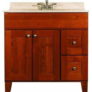 Bertch Cab Mfg Inc 36 Quot Osage Autumn Vanity Bathroom