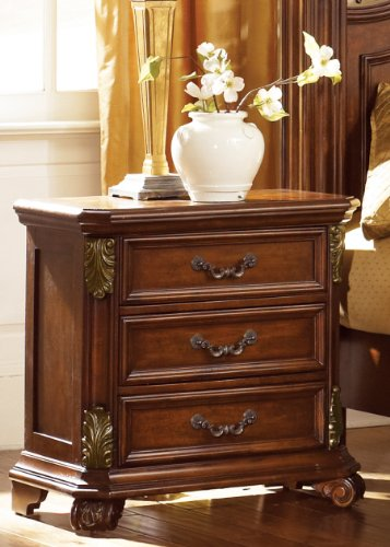 Messina 3 Drawer Night Stand front-810168