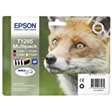 Epson T1285 (T128540) Standard Capacity Original Ink Cartridge Multi Pack