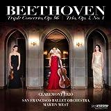 Beethoven: Triple Concerto in C Major, Op. 56 , Piano Trio in E-flat major, Op. 1 No. 1