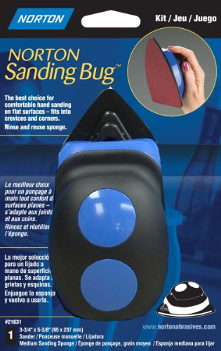 Norton 21631 Ergonomic Sanding Bug Palm Sander