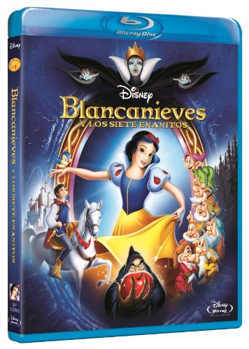 Blancanieves Y Los Siete Enanitos (Blu-Ray) (Import Movie) (European Format - Zone B2) (2014) Personajes Anima