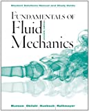 img - for Fundamentals of Fluid Mechanics, Student Solutions Manual and Student Study Guide book / textbook / text book