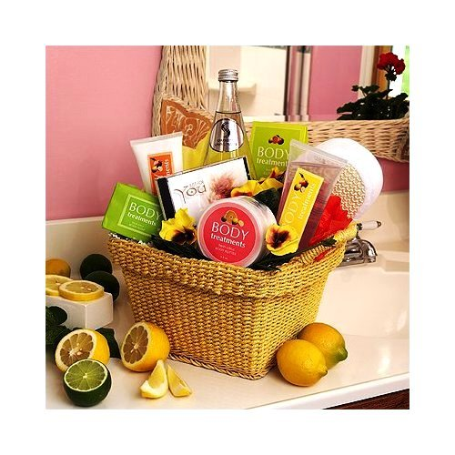 Citrus Spa Gift Basket - Small