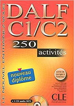Amazon.com: DALF C1/C2: 250 Activities [With Booklet and MP3] (Nouvel