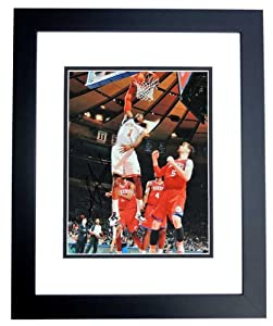 Amare Stoudemire Autographed Hand Signed New York Knicks 11x14 Photo - BLACK CUSTOM... by Real Deal Memorabilia