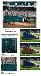 Jaypro Sports BBGS-18-XX The Grand Slam Professional Portable Batting Cage by Jaypro