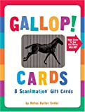 Gallop! Cards: 8 Scanimation Gift Cards
