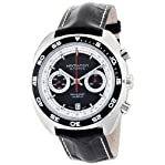 Hamilton Men's 'American Classic' Swiss Automatic Stainless Steel and Leather Dress Watch, Color:...