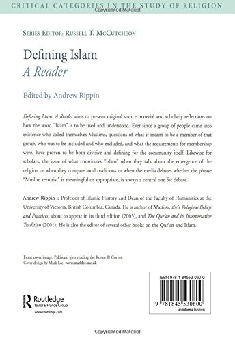 Defining Islam: A Reader (Critical Categories in the Study of Religion)