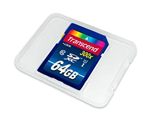 Transcend 64GB High Speed 10 UHS Flash Memory Card (TS64GSDU1)