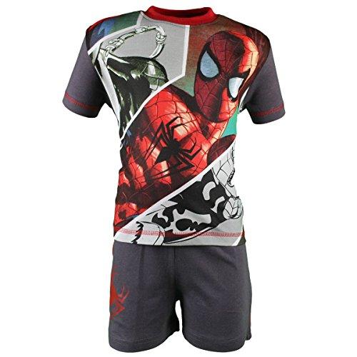 Spiderman Set Pantaloncini con Camicia Maniche Corte Ragazzo The Ultimate