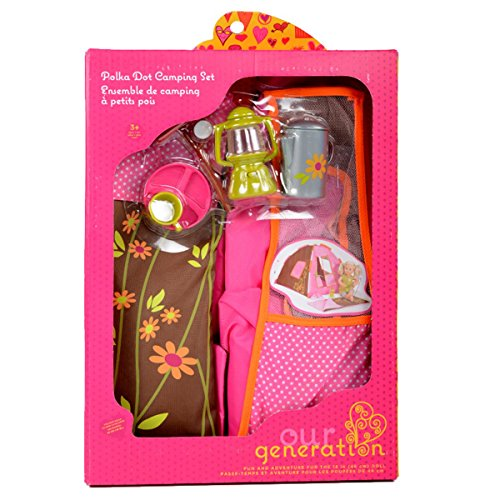 Our-Generation-Pegged-Accessory-Polka-Dot-Camping-Set