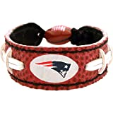 NFL New England Patriots Classic Football Bracelet