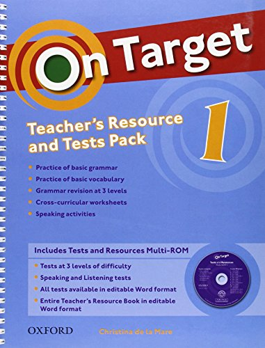 On Target 1: Teacher's Resource Pack & Test Pack (Es)