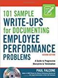 img - for 101 Sample Write-Ups for Documenting Employee Performance Problems: A Guide to Progressive Discipline & Termination book / textbook / text book