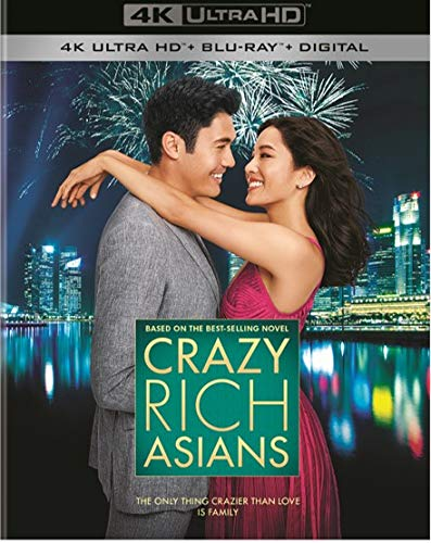 4K Blu-ray : Crazy Rich Asians (With Blu-ray, Black, 4K Mastering, 2 Pack)