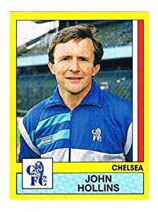 No.55 John Hollins Chelsea Manager - Football 87 - Panini - English & Scottish Leagues