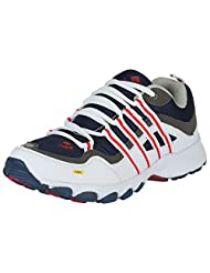 ADK White & Blue Sports Shoes For Men