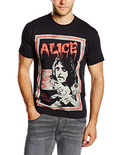 Alice Cooper Men's Vintage Poster Short Sleeve