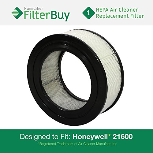 21500 / 21600 Honeywell Air Purifier Replacement Filter (AFB HEPA). Designed and engineered by FilterBuy in the USA. (Hepa Filter 50150 compare prices)