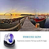 Luxsure Universal 4 in 1 Camera Lens Kit Fish Eye Lens + 2 in 1 Macro Lens + Wide Angle Lens + CPL Lens for iPhone 6/6 Plus/6s/6s plus/5/5S/4/4S,iPad Air/Mini,Samsung Galaxy/Note,Sony Xperia(Silver)