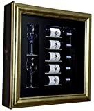 Ip Industrie - Espositore refrigerato per il servizio di 5 bottiglia importanti e 2 calici temperatura 14/16 gradi