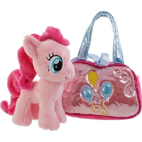 Soft My Little Pony Pinkie Pie Cutie Mark Carrier by Aurora World