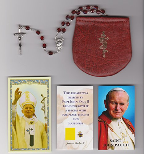 pope-john-paul-ii-glass-blessed-rosary-with-papal-crucifix-on-8-17-2002-in-krakow-poland-with-rosary