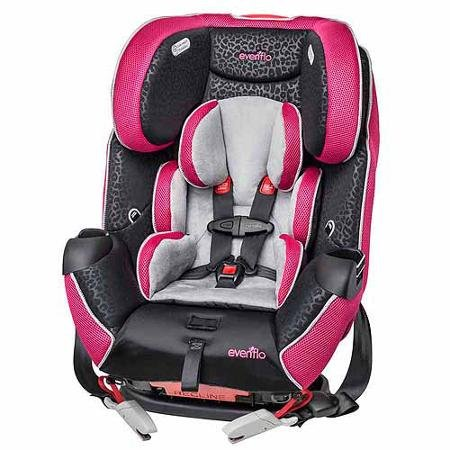 Evenflo Symphony Lx All-in-one Convertible Car Seat - Adrianne
