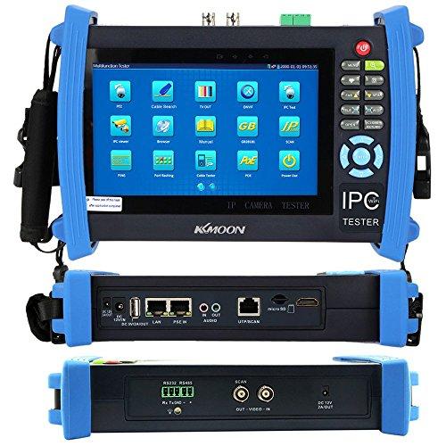 KKMOON-7-pouces-CCTV-Ecran-Onvif-IP-Camra-Touch-Test-Moniteur-HDMI-1080P-PTZ-POE-WIFI-Cable-Tracer-Serveur-FTP-Scan-IP-Port-Clignotant-DHCP-IPC-8600