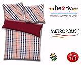 Trendy Metropolis Premium AC Comforter for Double Bed