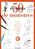 echange, troc Lee J. Ames - 50 dessins de monstres