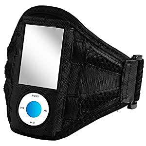 eForCity Armband for 8 GB/16 GB iPod nano 4G/5G (Black)