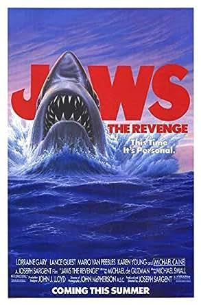 """Jaws: The Revenge - Authentic Original 27"""" x 41"""" Movie ..."""