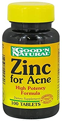 Zinc for Acne Good 'N Natural 100 Tabs